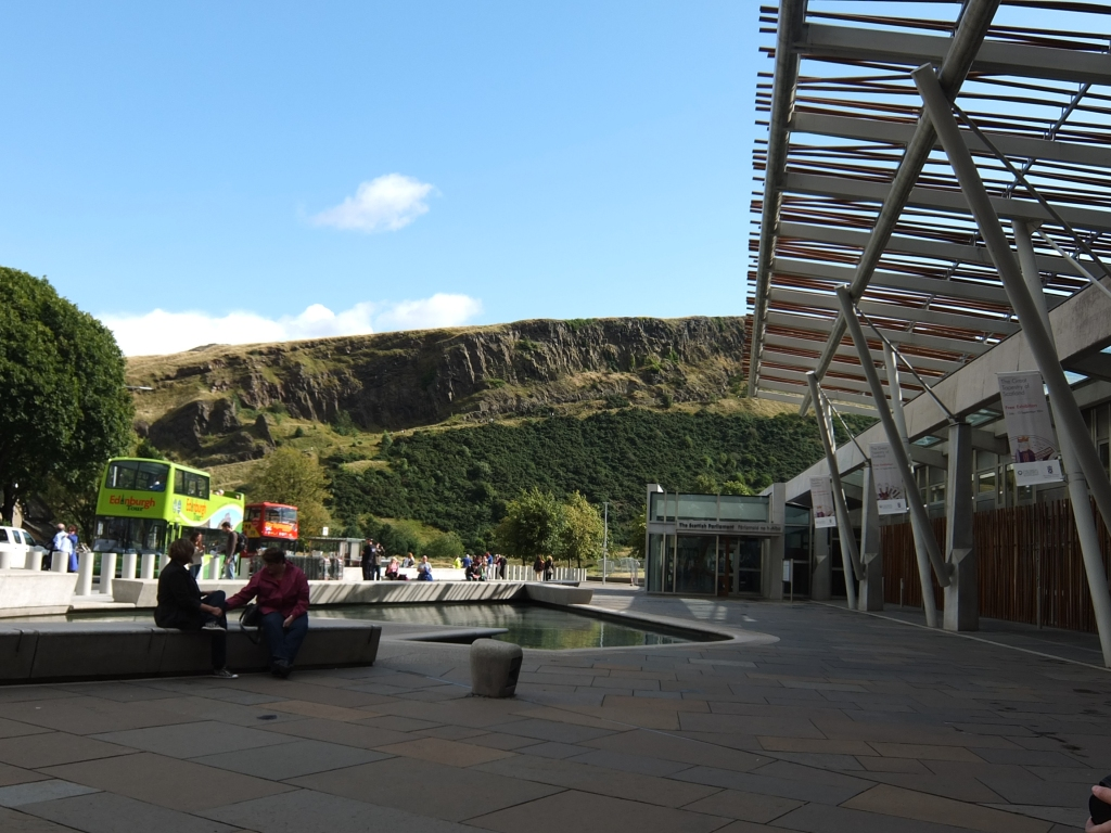 House of Parliament and Arthur's Seat